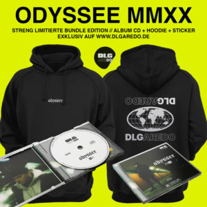 CD + Hoodie + Sticker (Vorbestellung)